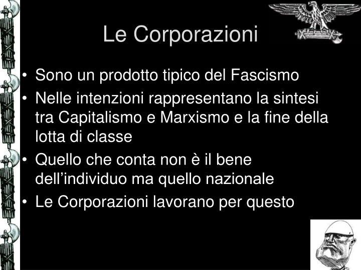 Le Corporazioni