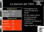 le elezioni del 1924