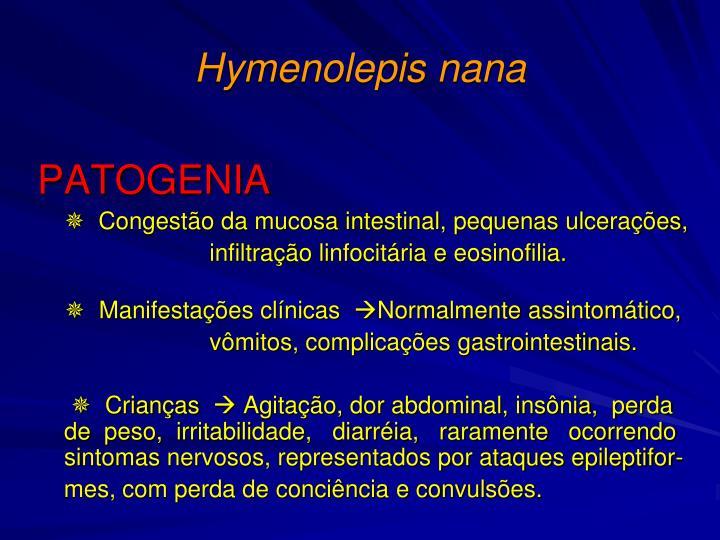 Hymenolepis nana