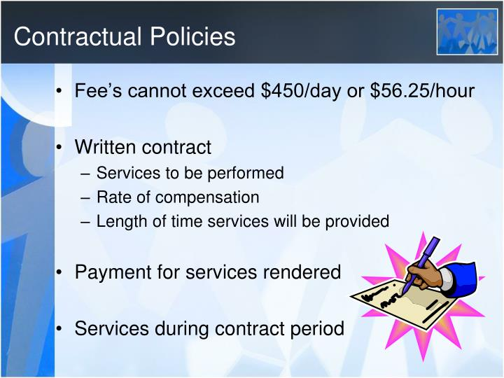 Contractual Policies