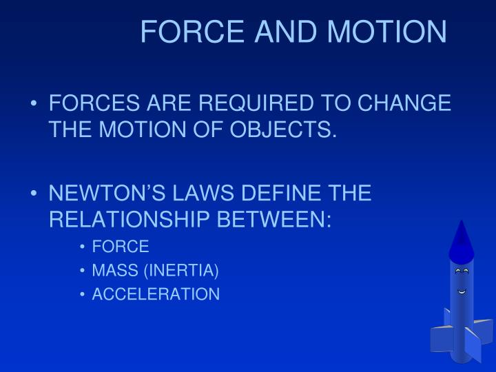 Force and motion1