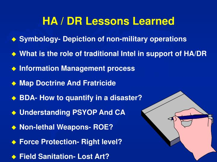 HA / DR Lessons Learned