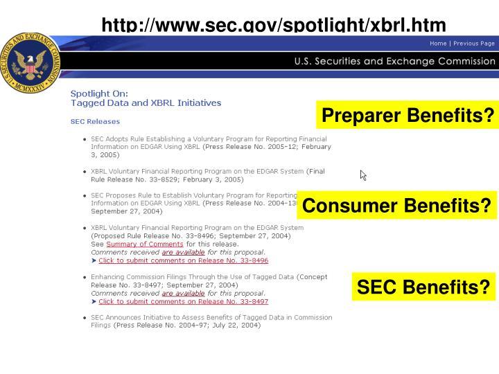 http://www.sec.gov/spotlight/xbrl.htm
