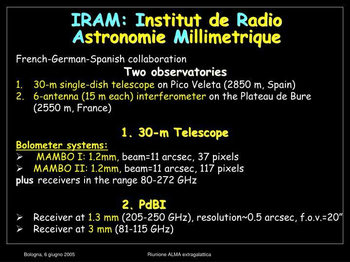 IRAM: I