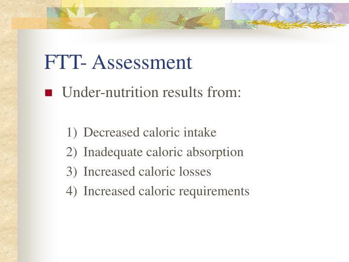 FTT- Assessment