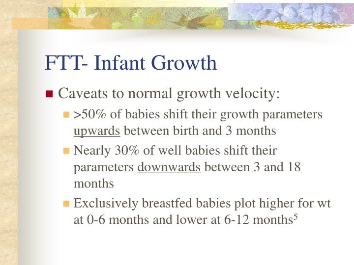 FTT- Infant Growth