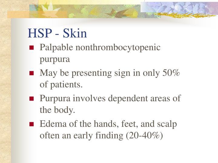 HSP - Skin