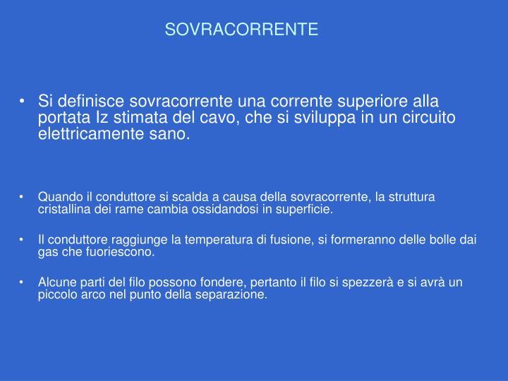 SOVRACORRENTE