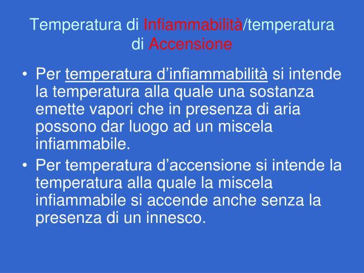 Temperatura di