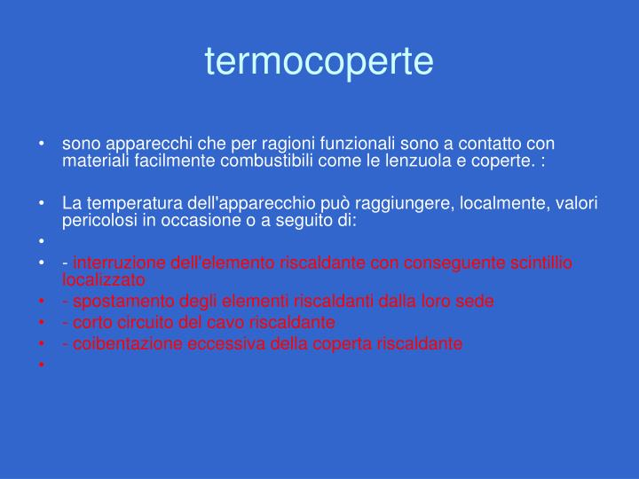 termocoperte