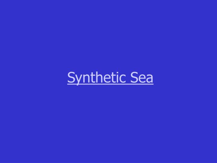 Synthetic Sea