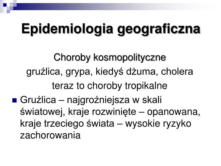 Epidemiologia geograficzna