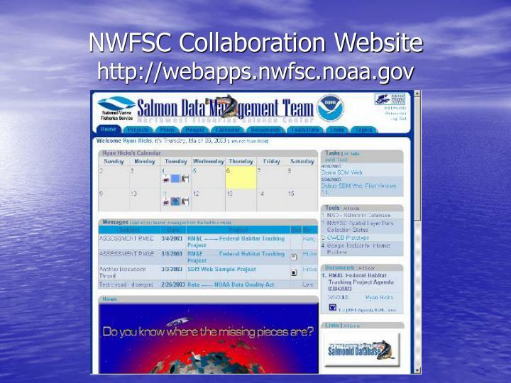 NWFSC Collaboration Website