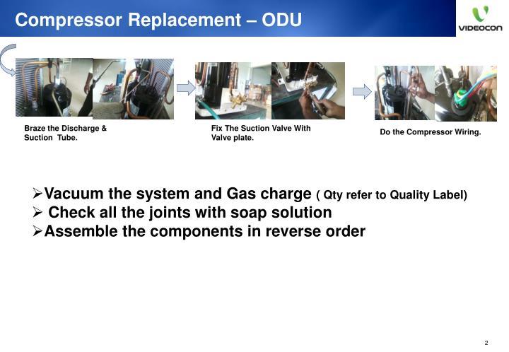 Compressor Replacement – ODU
