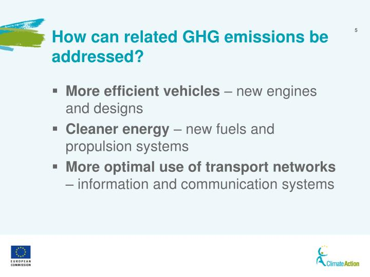 How can related GHG emissions be addressed?