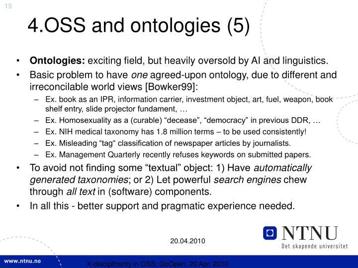 4.OSS and ontologies (5)