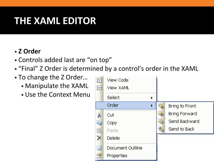Z Order