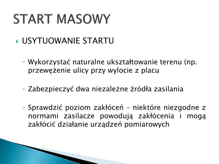 START MASOWY