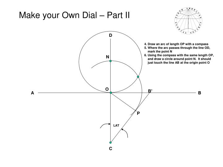 Make your own dial part ii
