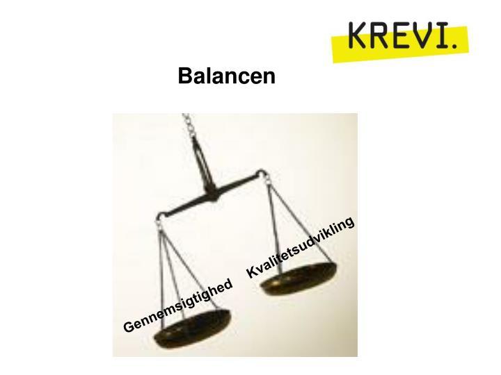 Balancen