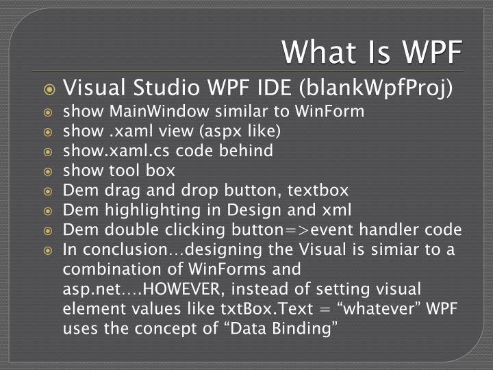 What is wpf1