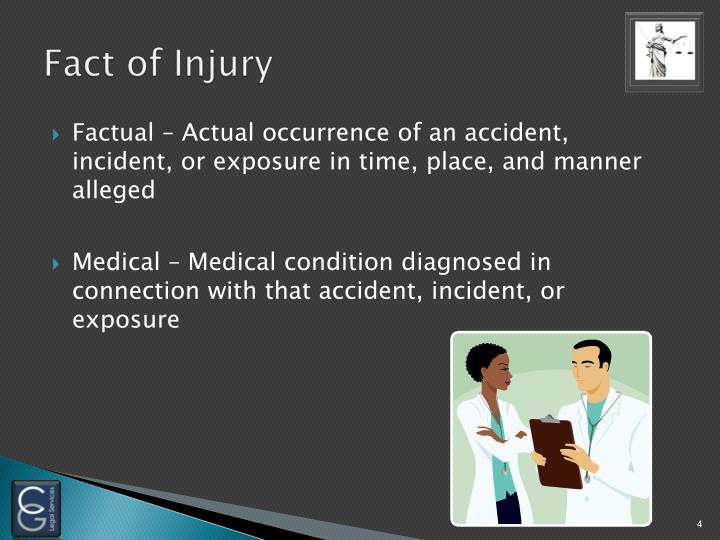 Fact of Injury