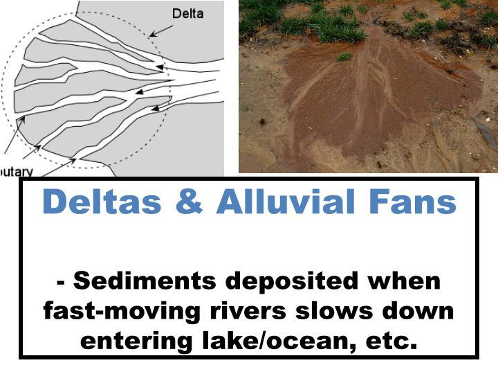 Deltas & Alluvial Fans