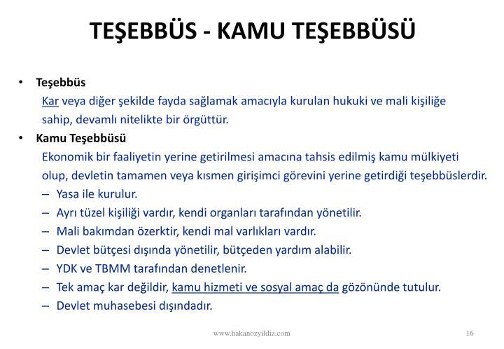 TEEBBS - KAMU TEEBBS