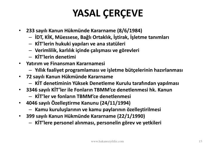 YASAL EREVE