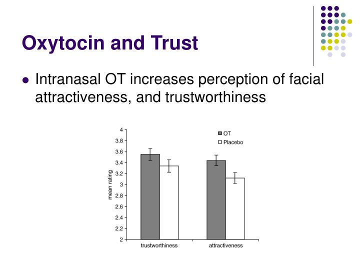 Oxytocin and Trust