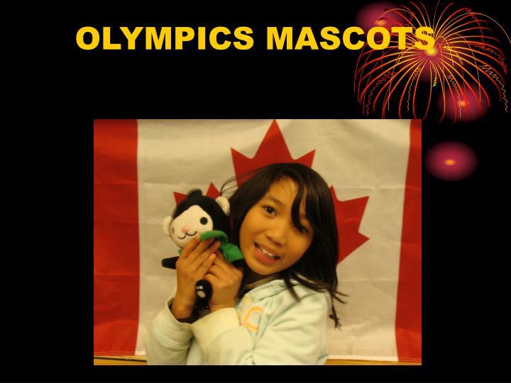 OLYMPICS MASCOTS
