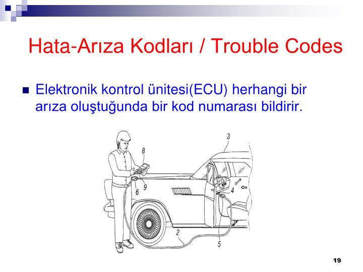 Hata-Arıza Kodları / Trouble Codes