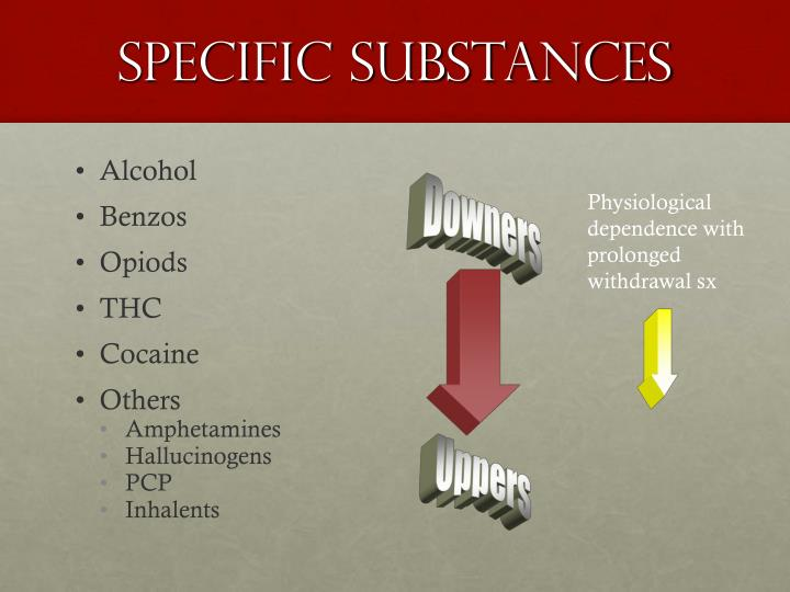 Specific Substances