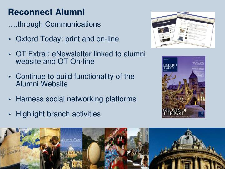 Reconnect Alumni