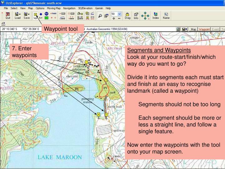 Waypoint tool