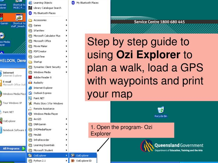 Using Ozi Explorer to Plan your campout walk