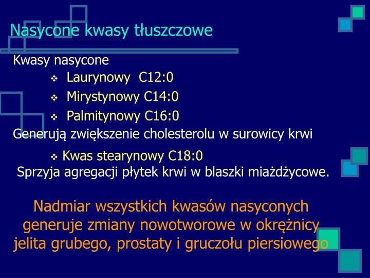 Kwasy nasycone