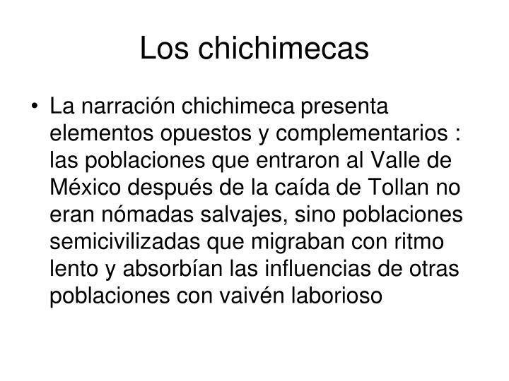 Los chichimecas
