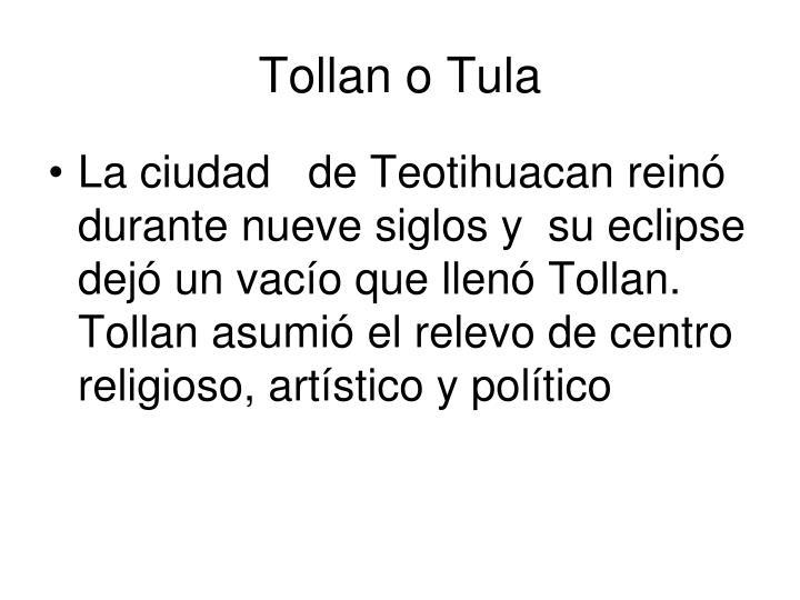 Tollan o Tula