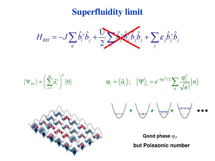 Superfluidity limit