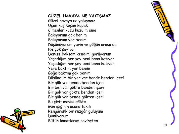GZEL HAVAYA NE YAKIMAZ