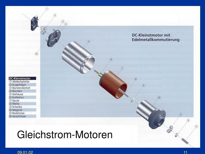 Gleichstrom-Motoren