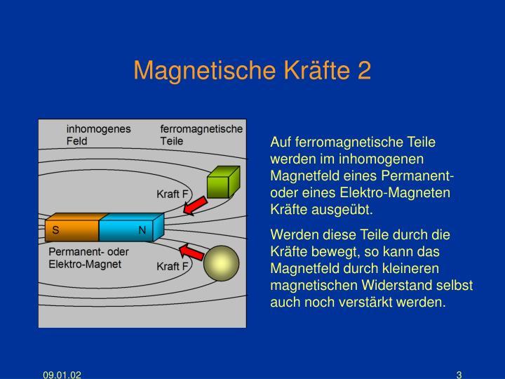 Magnetische Kräfte 2