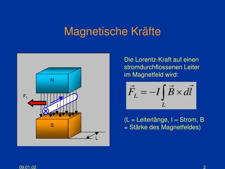 Magnetische Kräfte
