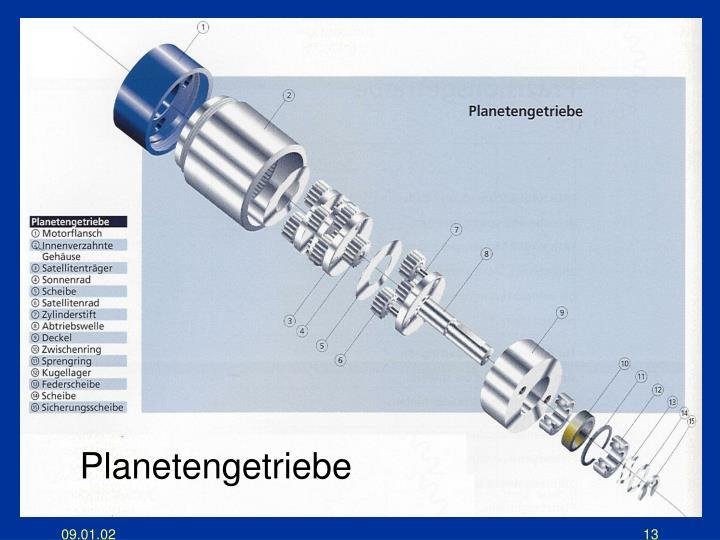 Planetengetriebe