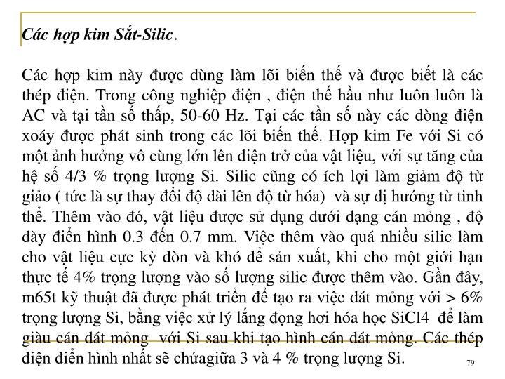 Cc hp kim St-Silic