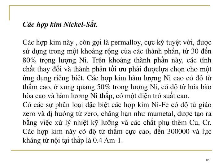 Cc hp kim Nickel-St.