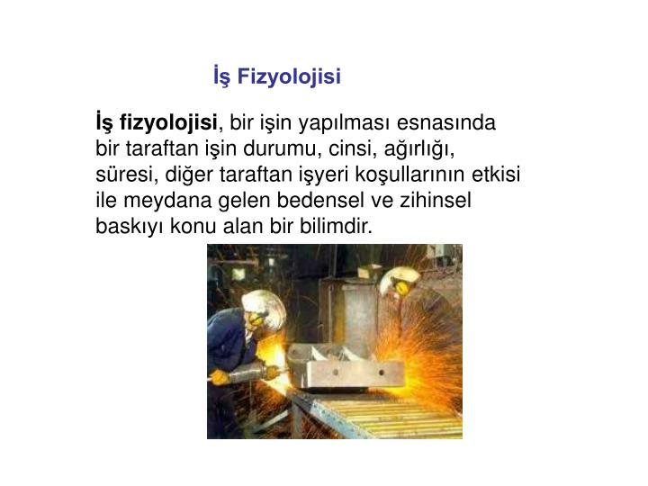 İş Fizyolojisi
