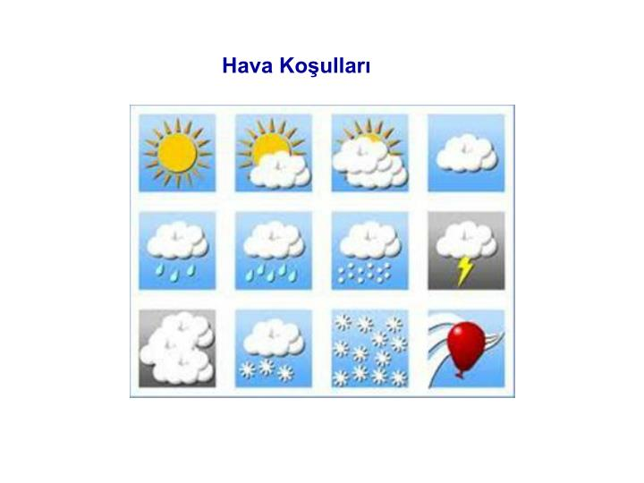 Hava Koşulları