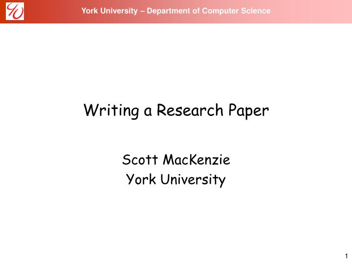 write research paper computer science Reading a computer science research paper philip w l fong department of computer science university of calgary calgary, alberta, canada t2n 1n4.